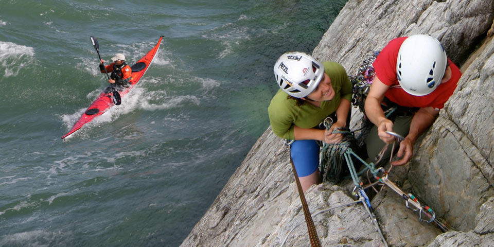 Climbing and Kayaking Week