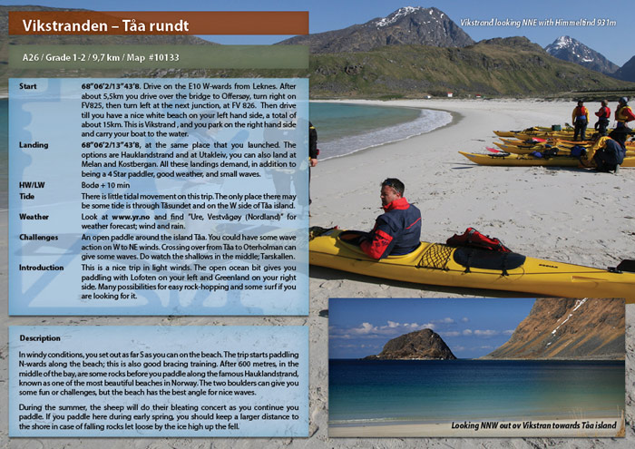 The Lofoten Islands guide book A26